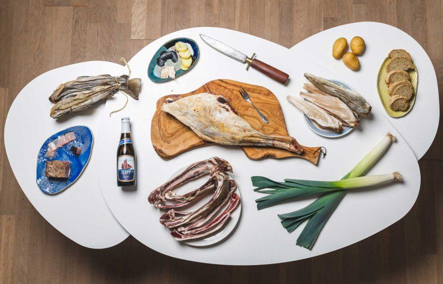 Faroese dinner