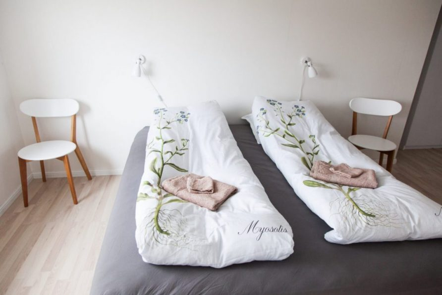 Bed linen and towels